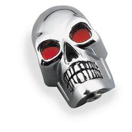 Chrome Bikers Choice Skull Marker Lamps Universal
