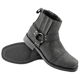 Black Speed & Strength Mens Cruise Missile Leather Boots 2015 Us 9