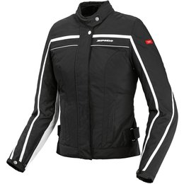 Spidi Sport Womens Street Tex Armored Textile Jacket Black