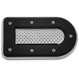 Kuryakyn Heavy Industry Brake Pedal Pad Each For Harley-Davidson Chrome 7039 Unpainted