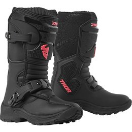 Thor Youth Girls Mini Blitz XP Boots Black