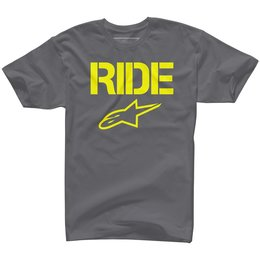 Alpinestars Mens Ride Solid T-Shirt Grey