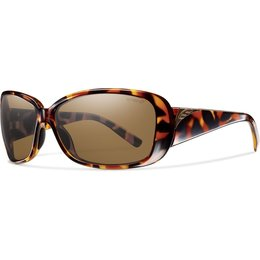 Smith Optics Womens Shorewood Polarized ChromaPop Sunglasses Brown