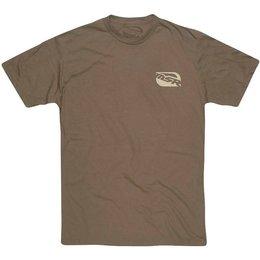 MSR Mens Bar Logo Graphic T-Shirt Brown