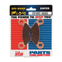 SBS ATV Off Road ATS Sintered Brake Pads Single Set Only Polaris 642ATS Unpainted