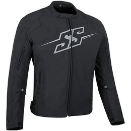 Speed & Strength Mens Hammer Down Textile Jacket Black