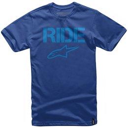 Alpinestars Mens Ride Solid T-Shirt Blue