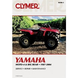Clymer Repair Manual For Yamaha ATV YFM350 YFM400 87-04