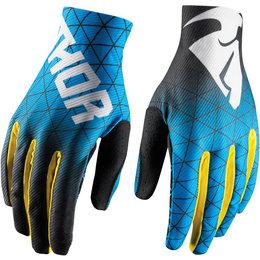 Thor Mens Void Vawn MX Gloves Blue
