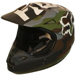 Fox Racing V1 Camo Helmet Multicolored