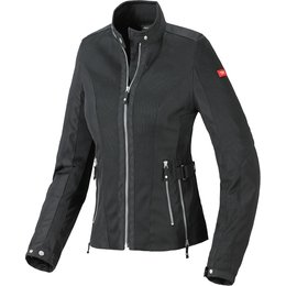 Spidi Sport Womens Summer Net Mesh Armored Textile Jacket Black