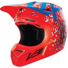 Fox Racing V3 Cauz MIPS DOT Helmet Red