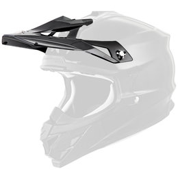 Scorpion VX-35 Replacement Visor Peak MX/Offroad Helmet Accessory Black