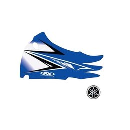 Factory Effex Graphics Kit 2011 Style Blue For Yamaha YZ85