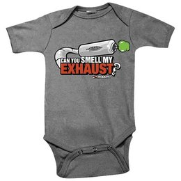 Grey Smooth Industries Infant Boys Smell My Exhaust One Piece Bodysuit 2013 3-6m