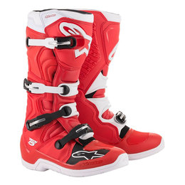 Alpinestars Mens Tech 5 MX Motocross Off-Road CE Certified Riding Boots Red