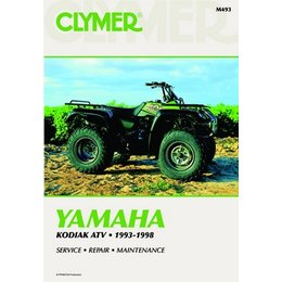 Clymer Repair Manual For Yamaha ATV YFM400 Kodiak 93-98