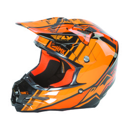 Fly Racing HMK F2 Carbon Pro Cross Snow Helmet Black