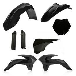 Acerbis Full Plastic Kit For KTM 85 SX 2013-2017 Black 2314340001 Black