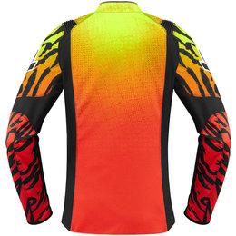Icon Womens Overlord SB2 Wild Child Textile Jacket Orange
