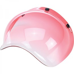 Red Biltwell Mens Repl Gradient Bubble Shield For Bonanza Gringo Helmet 2014