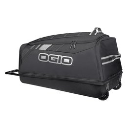 Ogio Shock Rolling Luggage Wheeled Gear Bag Black