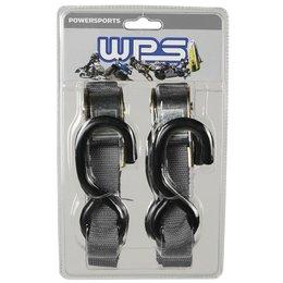 WPS Tiedowns 1 Inch X 68 Inch 2 Pack Black Universal