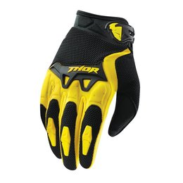 Yellow Thor Mens Spectrum Gloves 2015