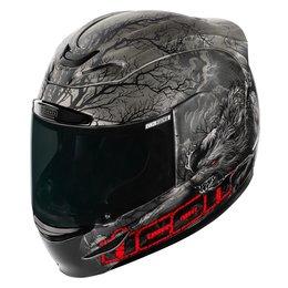 Black Icon Airmada Thriller Glow In The Dark Full Face Helmet