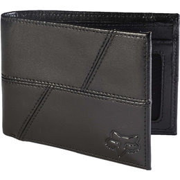 Fox Racing Mens Edge Leather Wallet Black