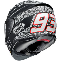 Shoei RF-1200 RF1200 Marc Marquez Digi Ant Replica Full Face Helmet Black
