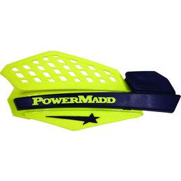 Powermadd Star Series Snowmobile Handguards Pair Yellow Black Universal 34201 Yellow