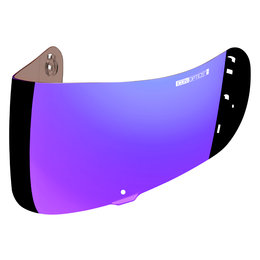 Icon Airframe Pro And Airmada Optics Fog Free Helmet Shield Purple