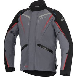 Alpinestars Mens Yokohama Drystar Armored Jacket Grey