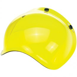 Yellow Biltwell Mens Replacement Bubble Shield For Bonanza Gringo Helmet 2014