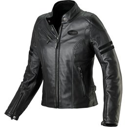 Spidi Sport Womens Ace Armored Leather Jacket Black