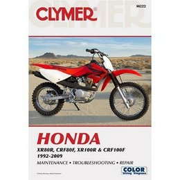 Clymer Repair Manual For Honda XR CRF 80 100 92-09
