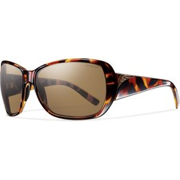 Smith Optics Womens Hemline Polarized ChromaPop Sunglasses Brown