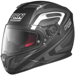Flat Black, Anthracite, White Nolan Mens N86 Overtaking Full Face Helmet 2014 Flat Black Anth White
