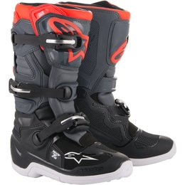 Alpinestars Youth Boys Tech 7S MX Motocross Offroad Riding Boots Black