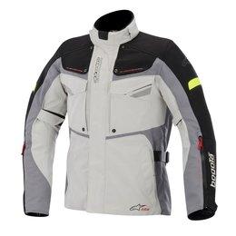 Grey, Black Alpinestars Mens Bogota Drystar Textile Jacket 2015 Grey Black