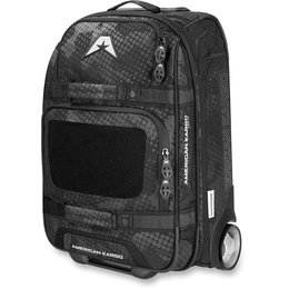 Black American Kargo Carry On Roller Wheeled Gear Bag 2014