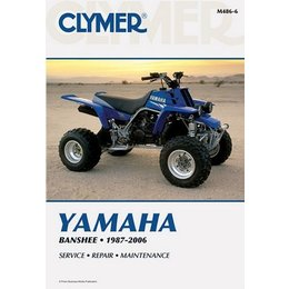 Clymer Repair Manual For Yamaha ATV YFZ350 Banshee 87-06