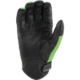 Speed & Strength Mens Power And The Glory Leather Riding Gloves Green
