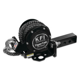 KFI ATV TigerTail 2.00 Inch Tow System Complete Kit Black 101100 Black