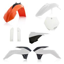 Acerbis Full Plastic Kit For KTM 85 SX 2017 Original 2314345569 White