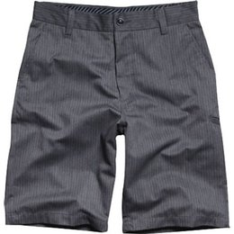 Charcoal Heather Fox Racing Kids Essex Pinstripe Walk Shorts Us 4
