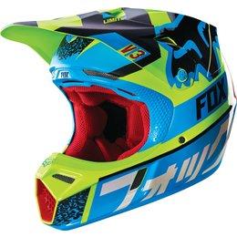 Fox Racing V3 Divizion MIPS DOT Helmet Blue