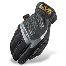 Black Mechanix Wear Fast-fit Gloves