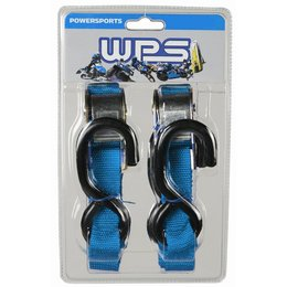 WPS Tiedowns 1 Inch X 68 Inch 2 Pack Blue Universal